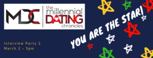 Millennial Dating Chronicles Interview Party 2 @ Fort Wiggins | Bowie | Maryland | United States